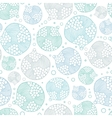 Vecor abstract bubble stripes seamless pattern vector image
