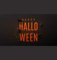 beautiful black greeting web banner for halloween vector image