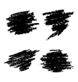 Set of Hand Drawn Grunge Elements vector image vector image