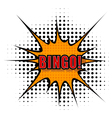 Cartoon bingo vector image