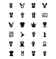 Award and Medal Icons 3 vector image