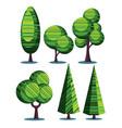 plants set vector image