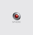 sphere theme logo template vector image