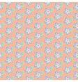 Summer pastel flowers vector image