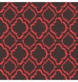 Ikat quatrefoil seamless pattern vector image vector image