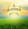 Summer Backgroun vector image