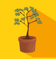 money tree business concept vector image