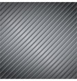 Metal Striped Background vector image vector image