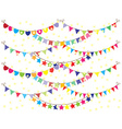 Bunting Background vector image
