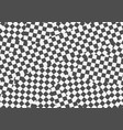 black and white geometric optical vector image