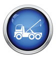 Car towing truck icon vector image