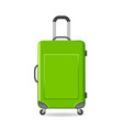 travel bag vector image vector image