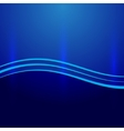 abstract blue metallic background with wave vector image