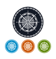 Icon compass rose vector image