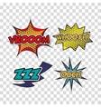 set pop art style icons vector image