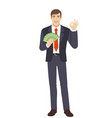 businessman vector image vector image