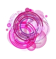 Geometric Circle Background Circle vector image