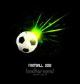 fotball 2012 vector image vector image