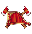 Fire Department or Firefighters Symbol vector image