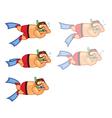 Diver Boy Getting Hurt Sprite vector image vector image