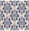 classic wallpaper damask background vector image