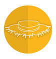 farmer hat isolated icon vector image
