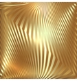 abstract metal gold background with zigzag stripes vector image