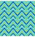 Chevron zig zag geometric pattern vector image