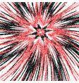 grunge burst vector image vector image