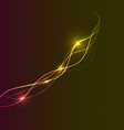 Curvy lines abstract background vector image