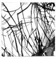 Grunge paint ink blot background vector image