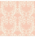Lace seamless pattern with elements flowers vector image