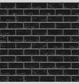 black old brick seamless vector image