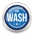 Car wash button icon vector image