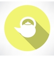 Teapot icon vector image vector image