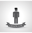 graduate symbol vector image