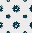 naval mine icon sign Seamless pattern with vector image