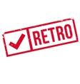 Retro stamp rubber grunge vector image