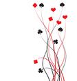 poker bridge - card game vector image
