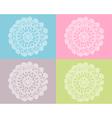 Crochet work vector image