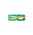 EQ Logo vector image