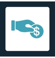 Donation icon vector image