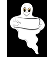 ghost cartoons vector image