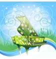 Nature symphony vector image