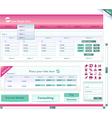 bank website vector image