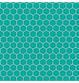 blue honeycomb seamless pattern vector image