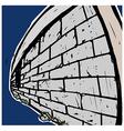 Grunge Stone Wall vector image