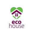 logo house vector image