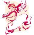 cartoon cupids vector image