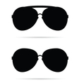 sunglasses black vector image